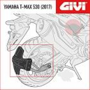 Kit especifico GIVI RM2133KIT  TMAX 530 2017