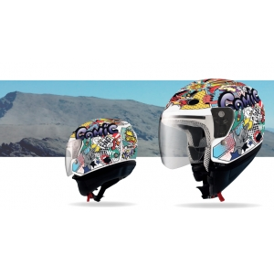 Casco Jet SHIRO SH-20 COMIC II KIDS