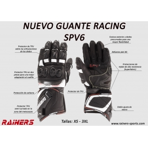 GUANTES RACING RAINERS SPV6 1