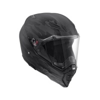 CASCO AGV AX-8 NAKED CARBON MULTI FURY CARBON BLACK 217541A2F0001
