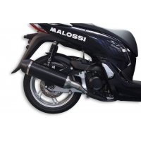 ESCAPE RX BLACK MALOSSI 3217117 HONDA SH 300 15-