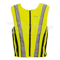 Chaleco reflectante amarillo fluor 490-- Oxford slim fit