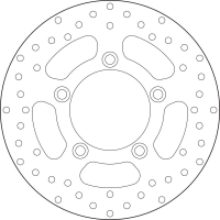 Disco de freno Brembo 68B40795 SUPERDINK 300
