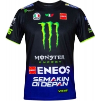 Camiseta VR46 Yamaha Racing Replica B20-VR46-E1