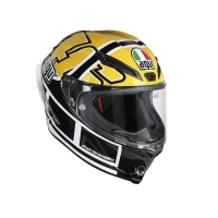CASCO AGV CORSA R E2205 TOP - ROSSI GOODWOOD 216121A0HY001