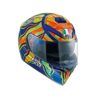 CASCO AGV K-3 SV PINLOCK ROSSI FIVE CONTINENTS 210301A0EY004