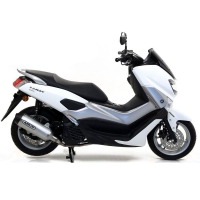 ESCAPE ARROW 53521AN (Aluminio copa negra) Yamaha NMAX 155 2017