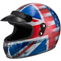 Casco Integral NZI Flat Track Graphics Commonwealth