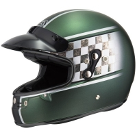 Casco Integral NZI Flat Track Graphics Smoking Joe