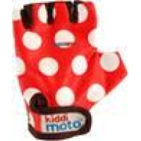 Guantes Kid Dotty Red