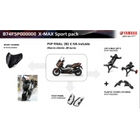 Pack Accesorios SPORT PACK XMAX 125/300/400 17-18 B74FSP000000