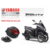 Pack Accesorios originales Yamaha Tricity Top Case 30L 2018