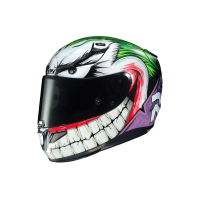 CASCO INTEGRAL HJC RPHA 11 JOKER DC COMIC