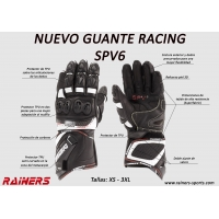 GUANTES RACING RAINERS SPV6