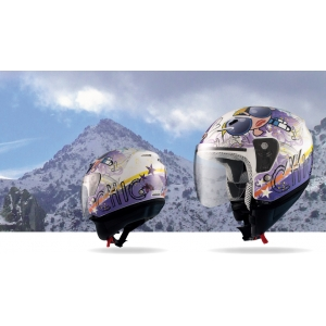 Casco Jet SHIRO SH-20 Tres Chic II OUTLET 1