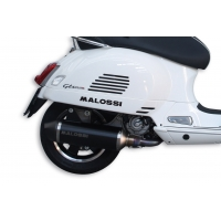 ESCAPE RX BLACK MALOSSI 3216703 VESPA GTS SUPER 300 IE 4T 2017